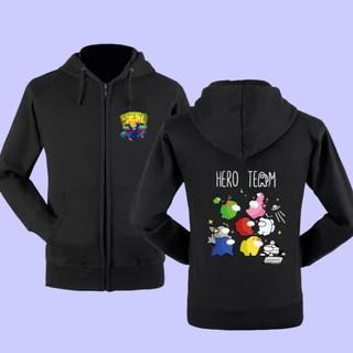 [HOT] BST áo khoác – Hoodie Hero Team – Mini World cực chất – có size trẻ em