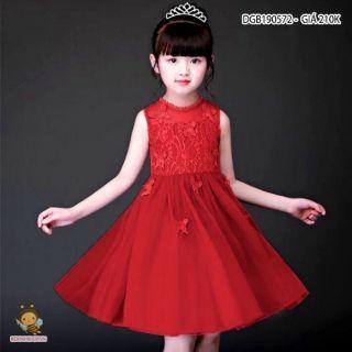 (Combo) Đầm ren công chúa cho bé gái