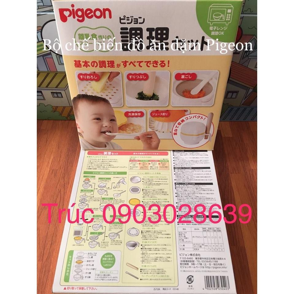 Bộ dụng cụ chế biến ăn dặm cho bé Pigeon - Hàng nội địa Nhật - 2593042 , 843633754 , 322_843633754 , 490000 , Bo-dung-cu-che-bien-an-dam-cho-be-Pigeon-Hang-noi-dia-Nhat-322_843633754 , shopee.vn , Bộ dụng cụ chế biến ăn dặm cho bé Pigeon - Hàng nội địa Nhật