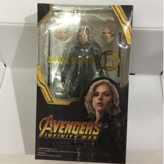 Marvel Avengers Infinity War SHF S.H.Figuarts Black Widow PVC Action Figures Collectible Model Toys Doll