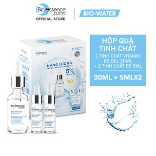 Hộp Quà Dưỡng Chất Phục Hồi Và Cấp ẩm cho da Bio-essence Bio-water Serum B5 30ml - Tặng 2 Serum B5 5ml chai thumbnail