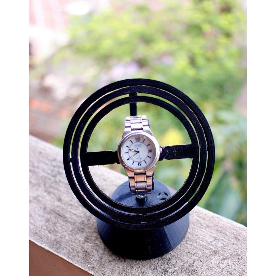 Hộp xoay đồng hồ, hộp lên cót đồng hồ in 3d, chất liệu nhựa PLA thân thiện với môi trường