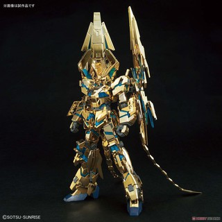 Mô hình lắp ráp Unicorn Gundam 03 Phenex (Destroy Mode) (Narrative Ver.) [Gold Coating] (HGUC)
