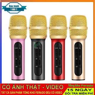 Micro C11 thu âm live stream loại cao cấp kèm tai phone