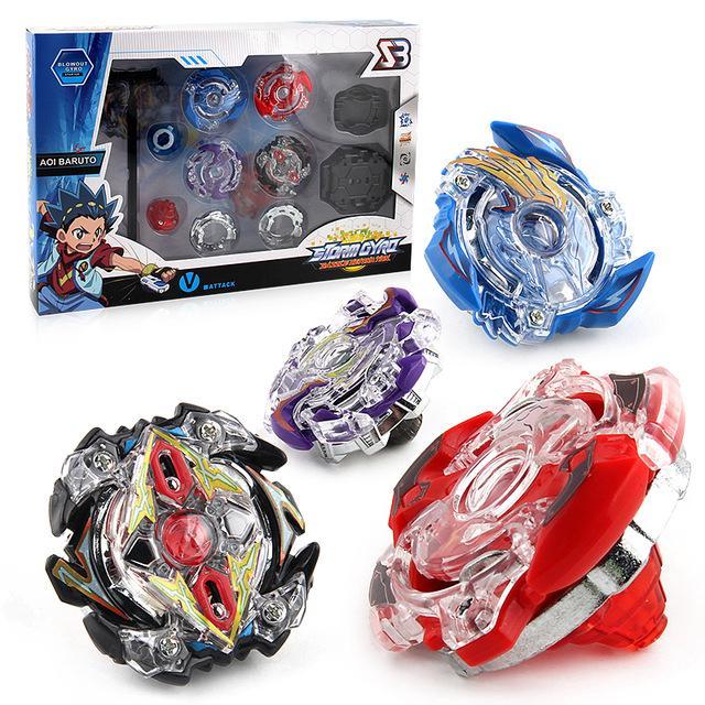 Free Shipping 4pcs/set Beyblade Arena Spinning Top Metal Fight Beyblade Metal Fusion Children Gifts