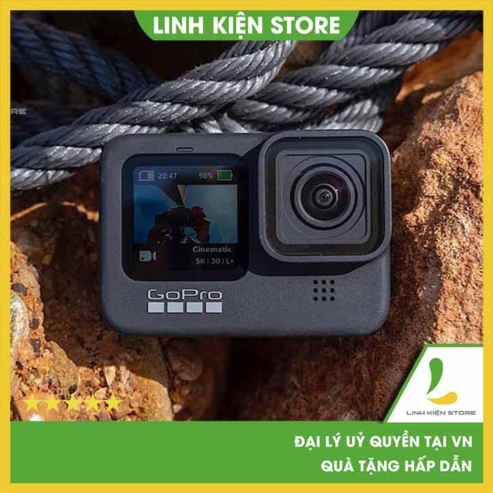 Gopro Hero 9 Black I Camera 5K, HyperSmooth 3.0, Hỗ trợ chụp ảnh 20MP
