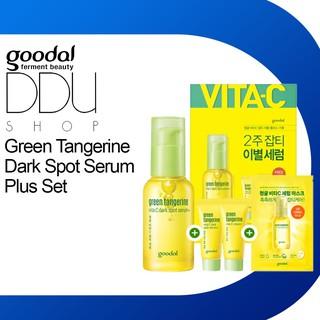 (Hàng thật) Goodal / Green Tangerine Dark Spot Serum Plus Set / Mỹ phẩm dưỡng da, Tinh chất