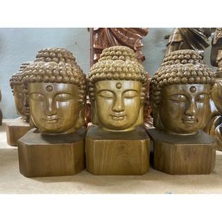 Diện Phật Thích Ca Cao 30 Cm Gỗ Thơm