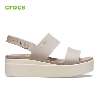 [Mã SUPE200K giảm 200K đơn từ 1tr2] Giày Nữ Crocs - Brooklyn Low Wedge 206453-15W thumbnail