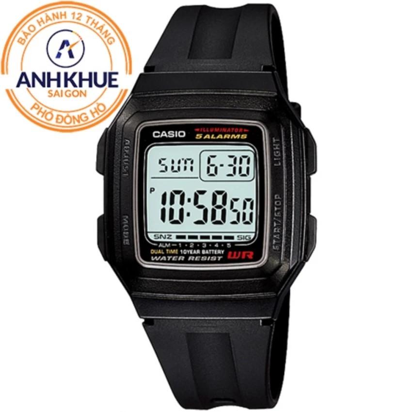 Đồng hồ nam dây nhựa huyền thoại Casio Anh Khuê F-201WA-1ADF - 3445632 , 887004994 , 322_887004994 , 350000 , Dong-ho-nam-day-nhua-huyen-thoai-Casio-Anh-Khue-F-201WA-1ADF-322_887004994 , shopee.vn , Đồng hồ nam dây nhựa huyền thoại Casio Anh Khuê F-201WA-1ADF