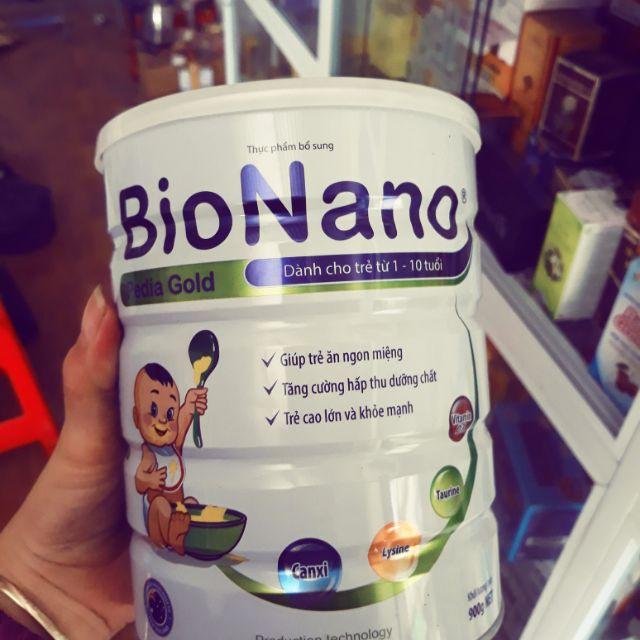 Sữa Bột Bionano PediaGold Cho Trẻ Từ 1-10 Tuổi