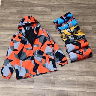 Áo khoác dù 3D hottrend size nam/nữ M L XL