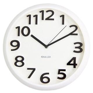 Đồng hồ treo tường kim trôi cao cấp AOYUN CLOCK Trắng
