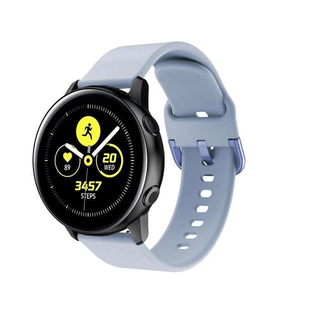 CHINK Samsung Galaxy Watch Active 2 42mm Strap Classic Silicone Watch Band Straps Accessories