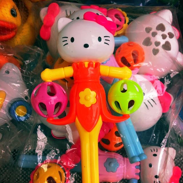 Xúc xắc (lục lạc)trẻ em hình mèo kitty