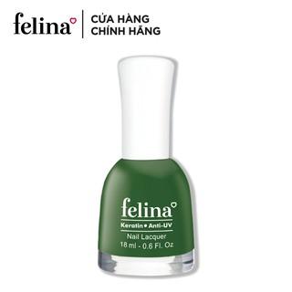 Sơn móng tay Felina 18ml - Màu Xanh Rêu - Code CS551