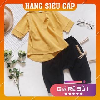 [FreeShip – Khuyến Mãi Sốc] Quần áo trẻ em cho bé trai và gái , Vải đũi thoáng mát mùa hè