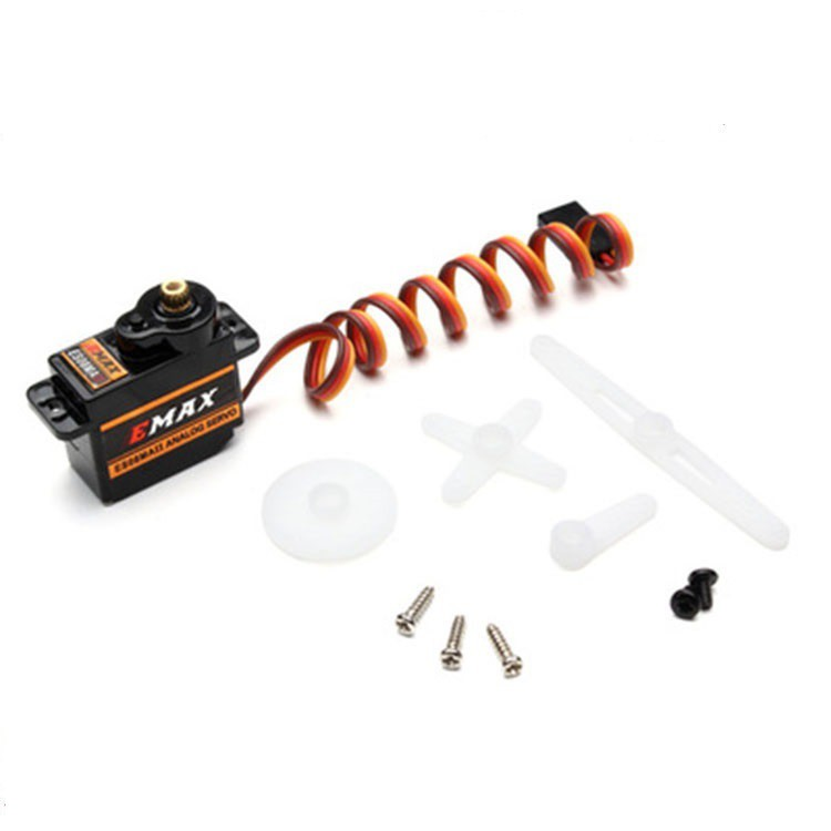 Động cơ servo EMAX ES08MA II cho đồ chơi điều khiển từ xa