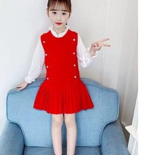 Váy thu đông trẻ em  D006