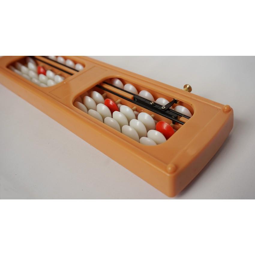bàn tính gẩy bàn tính soroban 13 cột có nút bấm cách sử dụng bàn tính gẩy