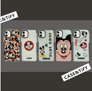 Mickey Minnie Silicon Soft Case For iPhone 11 Pro Max 8 Plus 7 XR XS X Silicone Lens Protection 12 Pro Max SE 2020 Cover