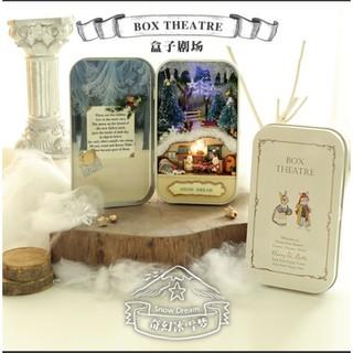 Mô Hình Nhà Gỗ DIY – Box theatre – Snow Dream