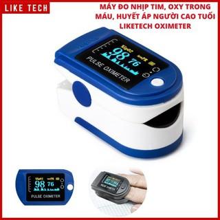 Máy đo nồng độ Oxy trong máu (SPO2) và nhịp tim Finger Pulse Oximeter - Máy Đo Spo2 thumbnail