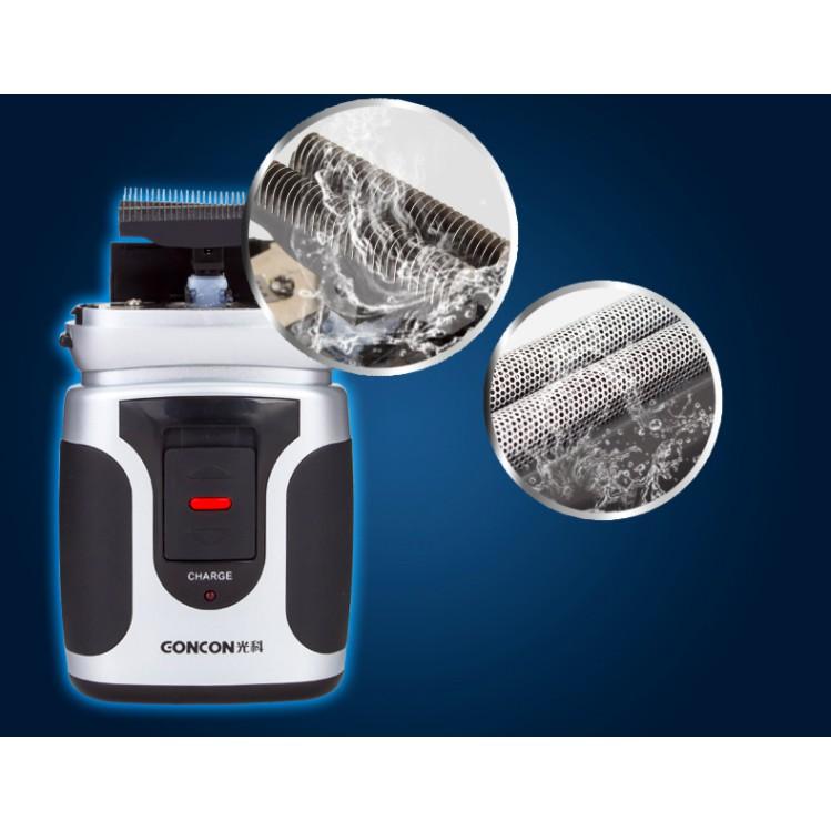 Máy cạo râu cao cấp siêu bền đa năng sạc nhanh GONCON MCR01