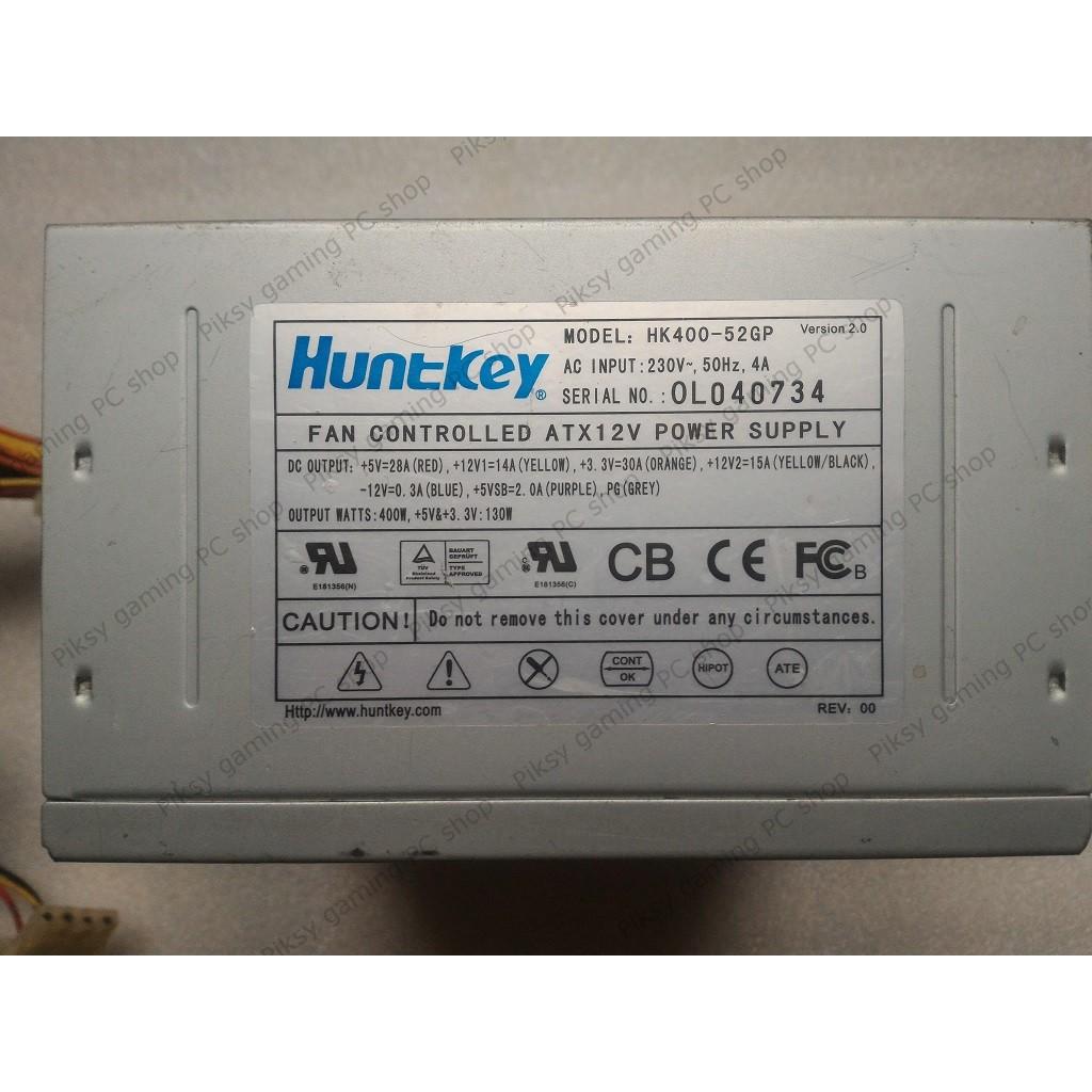 PSU / Nguồn máy tính Huntkey HK400-52GP (ATX 400W)