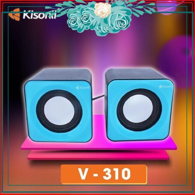 [SALE SOCK]  Loa vi tính 2.0 Kisonli V310