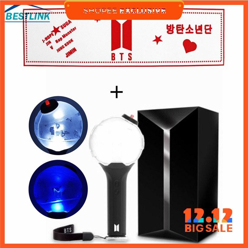 Bộ đèn phát sáng cổ vũ nhóm nhạc BTS độ