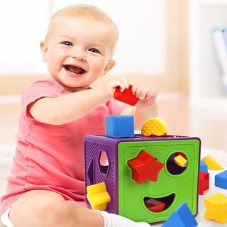 Hộp đồ chơi thả khối cho bé