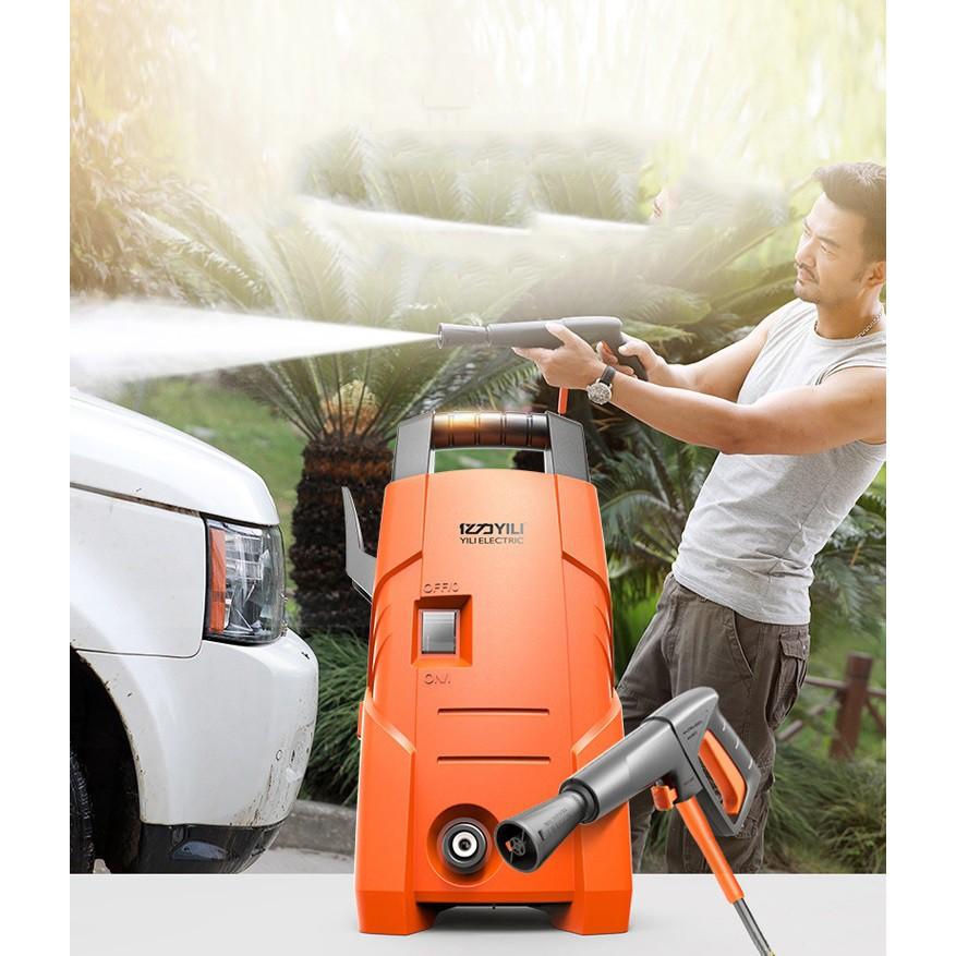Bơm Áp Lực Cao Cấp Phun Rửa Ôtô Xe Hơi, Xe máy YILI - YLQ3721C-90A - Máy rửa xe ô tô công suất lớn thương hiệu YILI