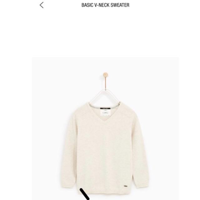 Áo len Zara Boy Auth mua sale