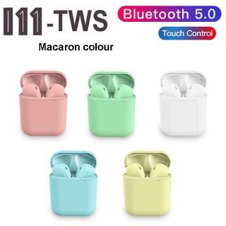 Tai nghe nhét tai không dây i11 TWS kết nối bluetooth 5.0 màu xinh xắn