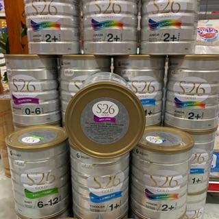Sữa Bột S26 Úc- đủ số (900gram)