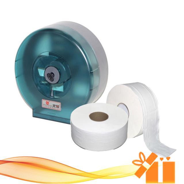 Combo 1 hộp đựng giấy vệ sinh cuộn to tặng ngay 1 cuộn giấy 700g