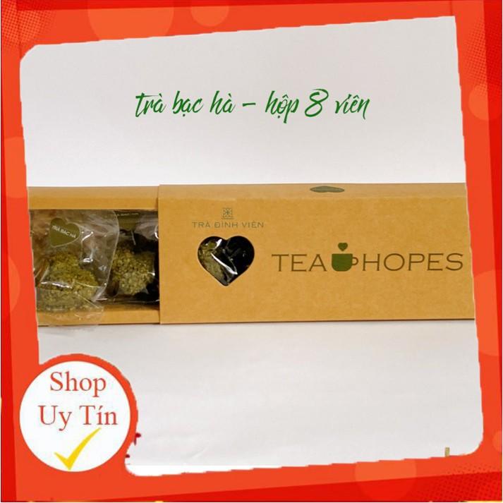 Tea Hopes - Trà viên hoa thảo mộc bạc hà cỏ ngọt - 105g