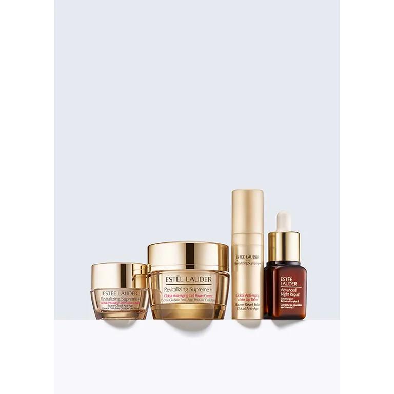 [có bill] Set Estee lauder Firm + Smooth + Glow Revitalize for Firmer, Radiant-Looking Skin căng bóng chống lão hóa