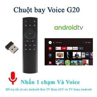Điều khiển Chuột bay tìm kiếm giọng nói Air Mouse model G20S chính hãng
