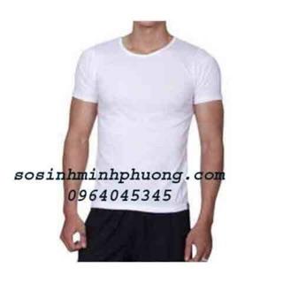 FREESHIP từ 199k cho áo đông xuân (cộc tay và ba lỗ) hãng LEDATEX chất đẹp (màu trắng) từ 45 đến 90 kg