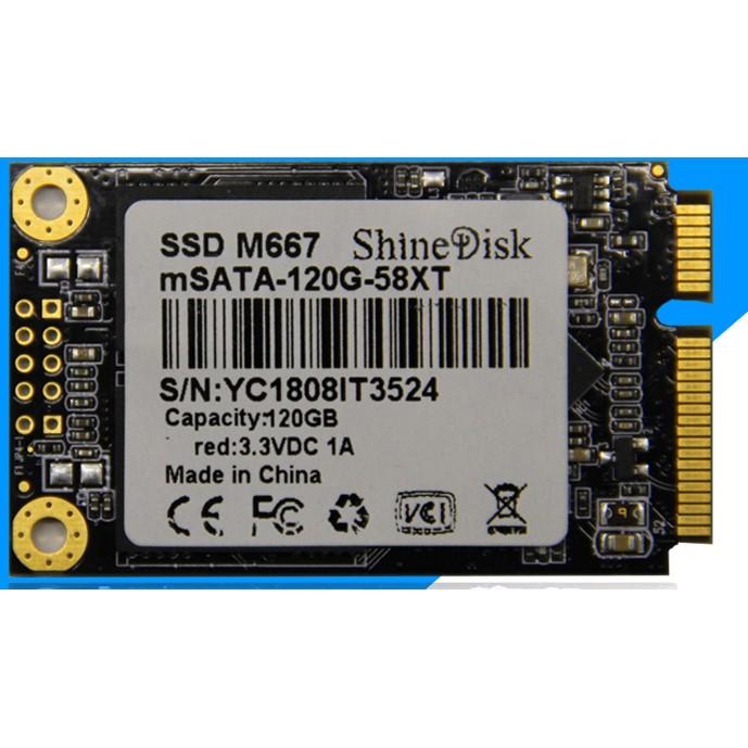 Ổ CỨNG SSD 120G/240G mSATA shinedisk