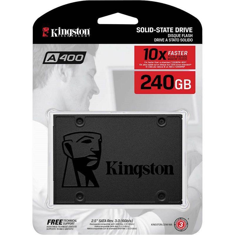 Ổ cứng SSD Kingston A400 SATA 3 240GB SA400S37/240G (Xám đen) - 2491733 , 1136757245 , 322_1136757245 , 2500000 , O-cung-SSD-Kingston-A400-SATA-3-240GB-SA400S37-240G-Xam-den-322_1136757245 , shopee.vn , Ổ cứng SSD Kingston A400 SATA 3 240GB SA400S37/240G (Xám đen)