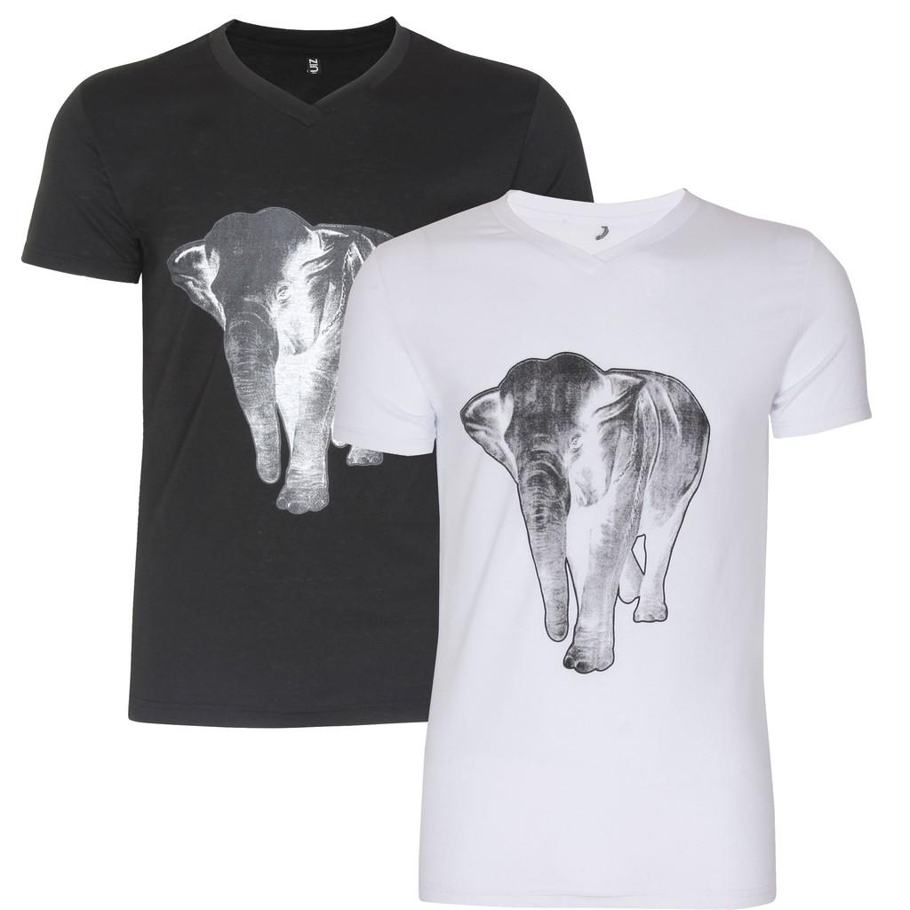 Bộ 2 Áo Thun Nam Cổ Tròn Họa Tiết Elephant 2 AO TOP NAM 039 B W - 2987300 , 229133527 , 322_229133527 , 230000 , Bo-2-Ao-Thun-Nam-Co-Tron-Hoa-Tiet-Elephant-2-AO-TOP-NAM-039-B-W-322_229133527 , shopee.vn , Bộ 2 Áo Thun Nam Cổ Tròn Họa Tiết Elephant 2 AO TOP NAM 039 B W