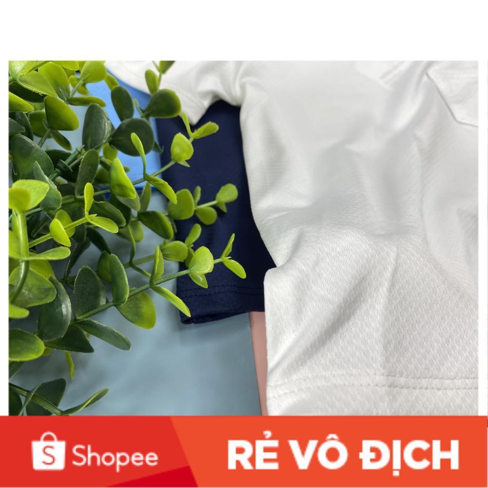 Áo bé trai trơn vải thể thao có túi size 1-18, cho bạn từ 10-25kg. Chất vải thể thao sờ thích tay, dễ mặc, mát mẻ cho bé
