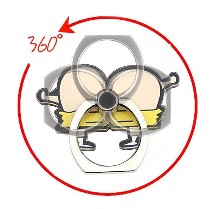 HP Nhẫn Đỡ Điện Thoại Xoay 360 Độ Hình Bướm