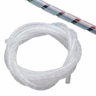 – 10 mét ống xoắn quấn dây điện (trắng) -Ho