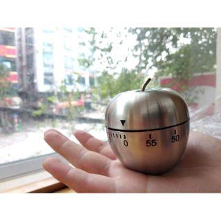 Đồng hồ pomodoro inox (hình quả táo)