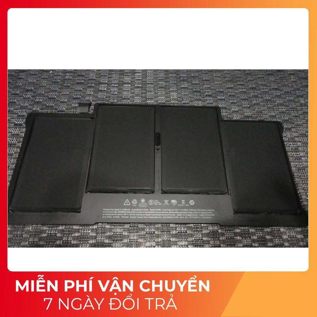"⚡️[Pin zin] Pin macbook A1496 Battery for MacBook Air 13"" A1466 Mid 2013 2014 2015 A1377 A1369"