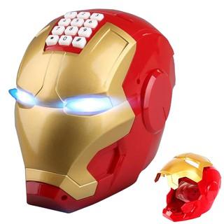 Két Đựng Tiền Mini, Két sắt Thông Minh Hình Siêu Anh Hùng Iron Man